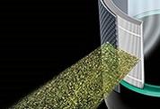 Фильтр HEPA из боросиликатного стекловолокна с рабочей поверхностью 360°